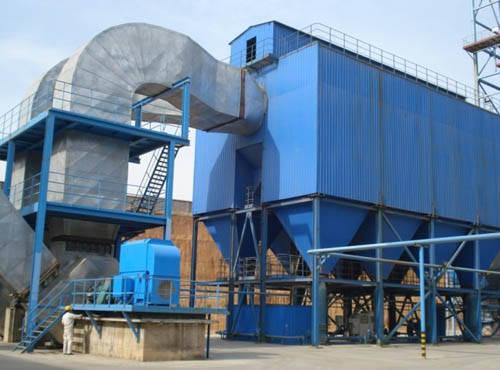 化肥厂电袋复合除尘器