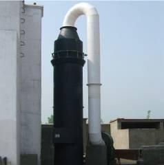 制药厂烟气SF型分体式水膜脱硫除尘器