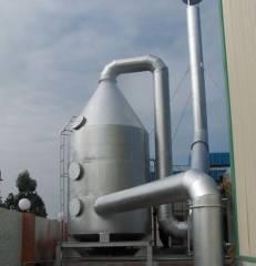 不锈钢喷淋净化脱硫除尘器